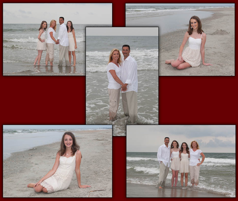 family portrait, beach portrait, beach family portrait, Charleston photographer, family photographer, Mount Pleasant photographer