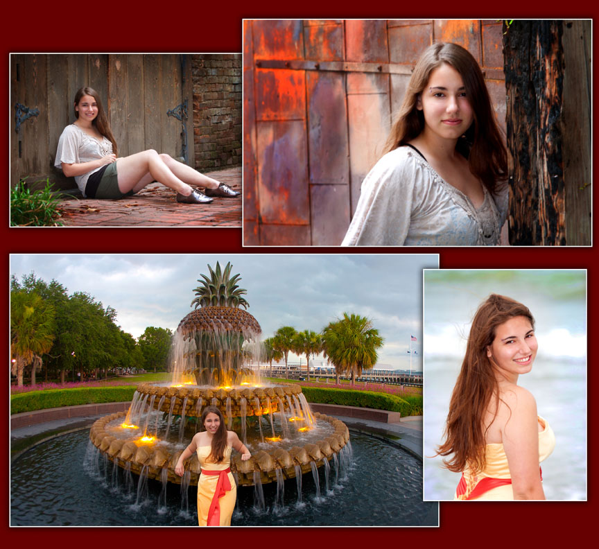 senior portrait, Charleston photographer, graduation announcement, Summerville photographer