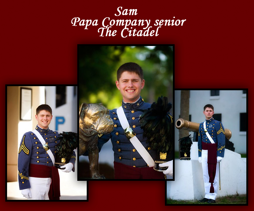 The Citadel photographer, The Citadel photography, The Citadel senior portrait, Charleston senior portrait, Charleston senior photographer, Citadel photography, graduation portrait